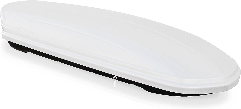 ab 2014 Dachbox VDPMAA320 320 Liter abschlie/ßbar wei/ß 5 T/ürer Dachtr/äger CRV135 kompatibel mit Jeep Renegade