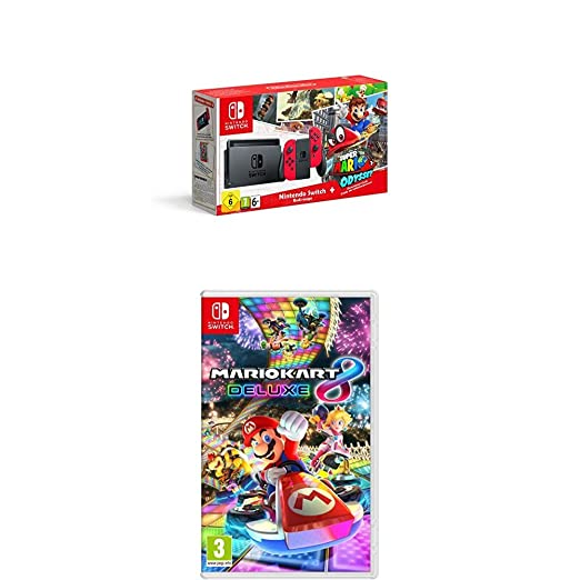 Nintendo Switch Mario Odyssey Limited Edition Console With