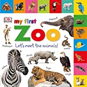 Tabbed Board Books: My First Zoo: Let's Meet the Animals! (Tab Board Books)