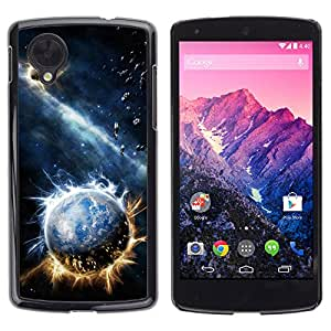 Stuss Case / Funda Carcasa protectora - Fiery Earthballs - LG Nexus 5 D820 D821