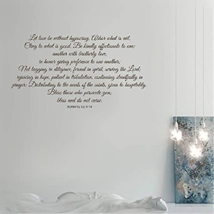 Amazon com: Wall Stickers Decals Art Words Sayings Removable