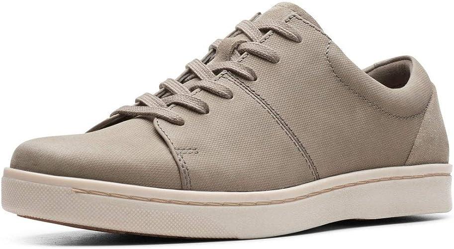 ignorancia Marinero Consciente de  Clarks Men's Kitna Vibe Low-Top Sneakers, 7 UK: Amazon.co.uk: Shoes & Bags