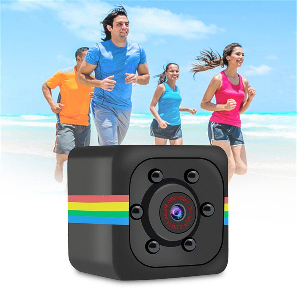 pqusno SQ11 Car DVR DV Camera Sports Dash Cam| 140 degree wide angle |1080p HD Indoor Wireless Spy Hidden Camcorder with IR Night Vision| Family Safety Mini Camera