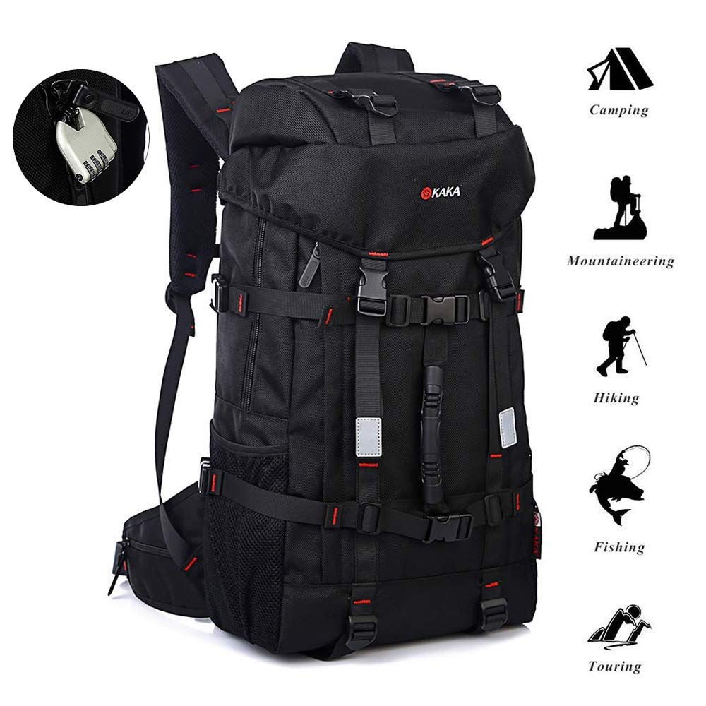 3e87dc5a22f8 Amazon.com  KAKA Travel Backpack 40L