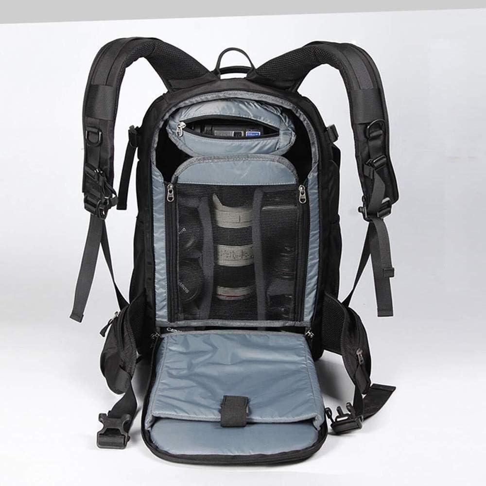 Black//red Line Size : Small Versatile Zhengtufuzhuang Modern Minimalist Professional Camera Backpack//SLR Camera Bag Shoulder Camera Bag Digital SLR Camera Backpack