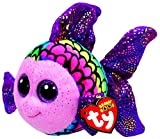 ty fish - Flippy Color Fish Beanie Boo Small 6 inch - Stuffed Animal by Ty (37242)