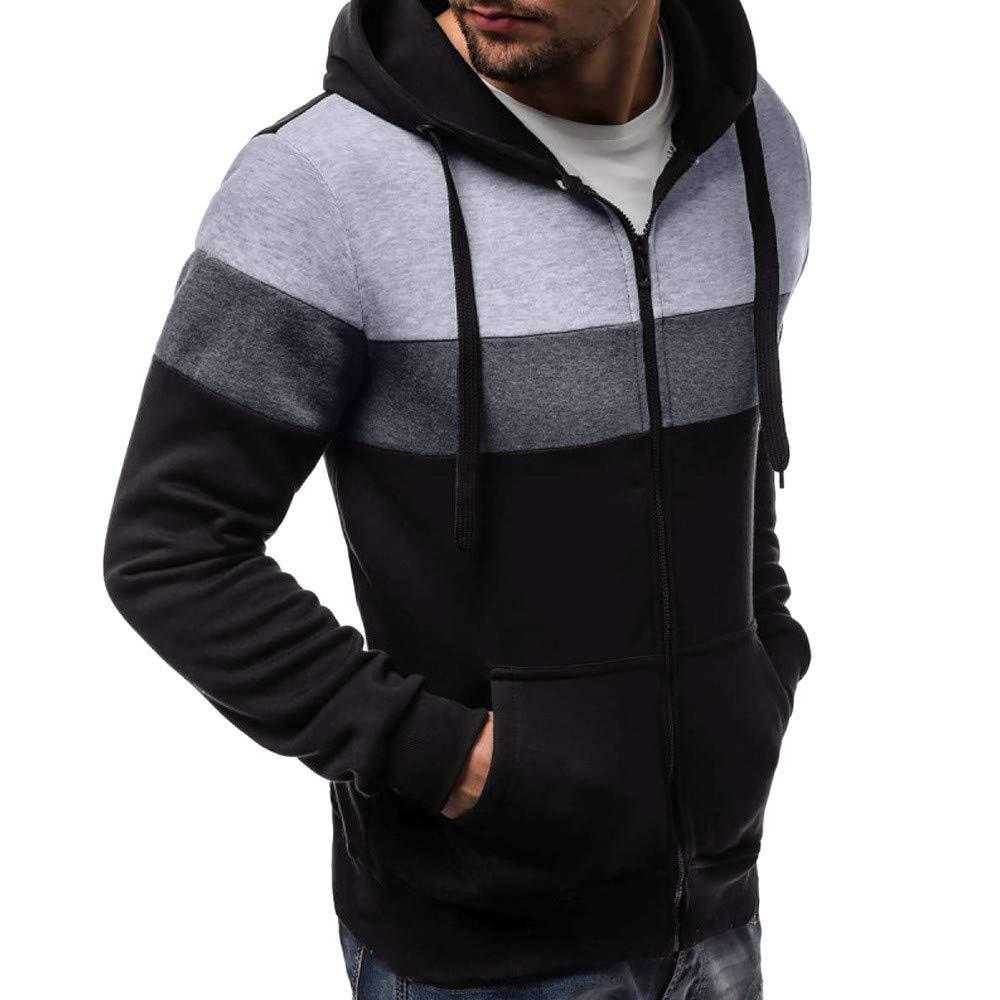 Mens Hoodies Pullover,Men/'s Autumn Winter Patchwork Hoodies Tracksuits,Hoodies Teen Boys
