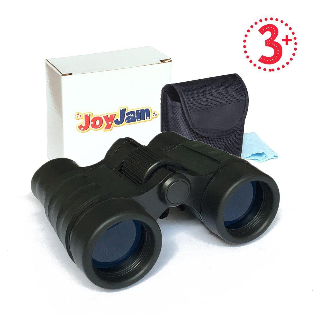 Joyjamコンパクト耐衝撃子供用双眼鏡、Best Gift For Boys & Girls (マルチカラー) B07C9G8TP6  ブラック