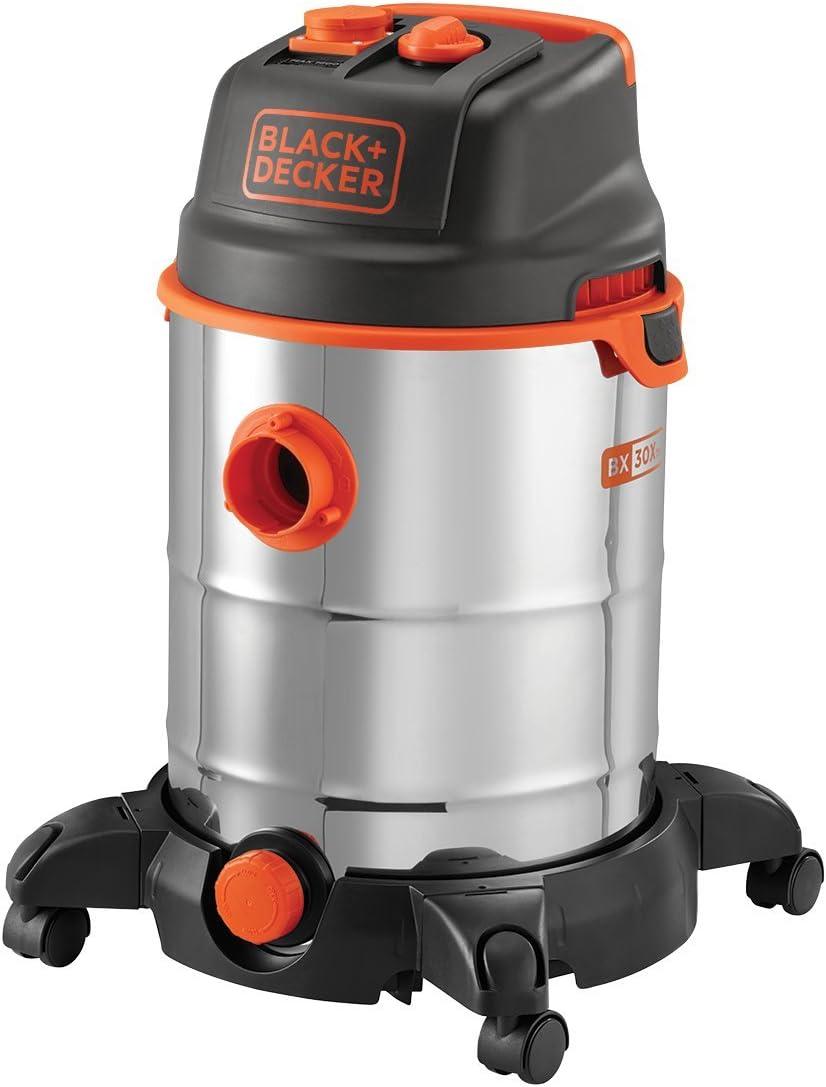 Black+Decker BXVC30XTDE Aspirador multiuso de sólidos y líquidos ...