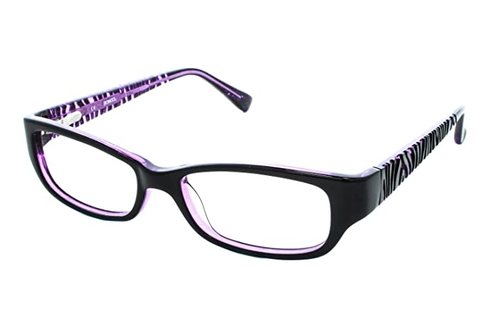 Bongo B Polly Womens Eyeglass Frames - Crystal/Purple at Amazon ...