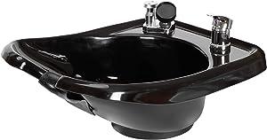 Wall mounted Backwash Shampoo ABS Plastic Bowl Salon Spa Equipment TLC-B13W-GT