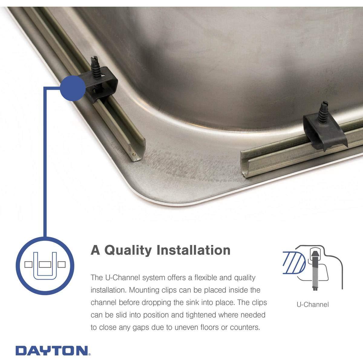 Elkay DE217323 Dayton Equal Double Bowl Stainless Steel Corner Sink by Elkay (Image #6)