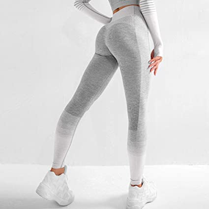 Women Yoga Gym Sports Leggings Running Workout Fitness Stretch High Waist Pants