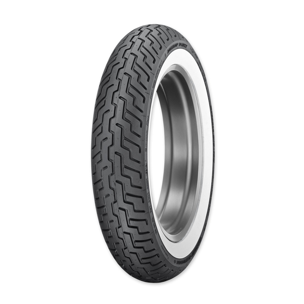 Dunlop D402 MT90B16 Wide Whitewall Front Tire 3022-91