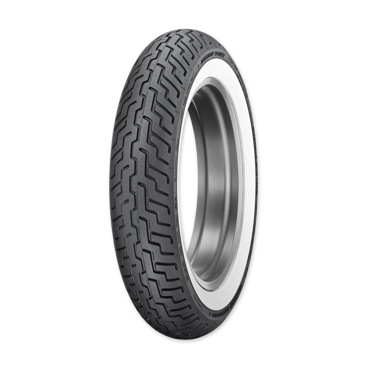Dunlop D402 MT90B16 Wide Whitewall Front Tire 45006380 4333415935 31-4902-MPR2