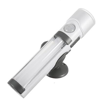 xnemon 3 in1 batería LED PIR sensor de movimiento luz nocturna lámpara de luz de emergencia
