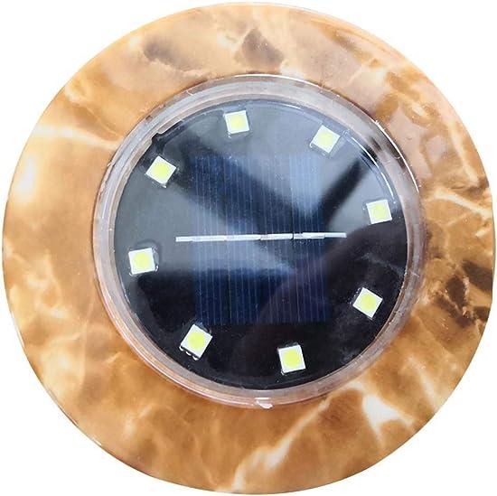 LEANO Waterproof Solar Panel Control Solar Lawn Light Underground Light Garden Light In-Ground Lights