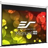 エリートスクリーン プロジェクタースクリーン マニュアルSRM Pro 100インチ(4:3) マックスホワイトFG素材 ホワイトケース M100VSR-Pro