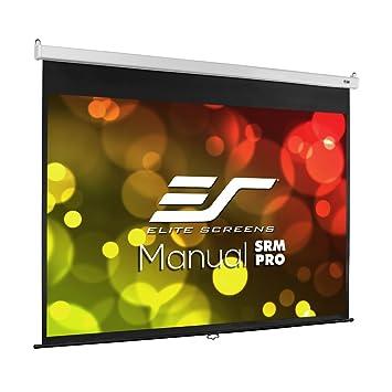 amazon com elite screens manual srm pro 100 inch 4 3 manual slow rh amazon com