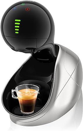 Krups Dolce Gusto Movenza KP600E - Cafetera de cápsulas, 15 bares de presión, color plata: Amazon.es: Hogar
