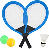 Dreamon Raquetas de Tenis con Bolas bádminton Juguete
