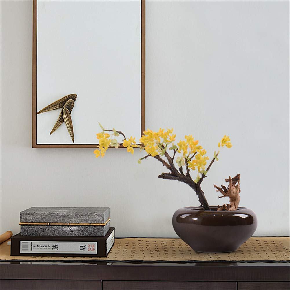 CITW Simple Art Yellow Fruit Tree Bonsai Bonsai Desktop Ornaments Modern Minimalist Home Furnishing OrnamentsOffice Gift by CITW (Image #2)