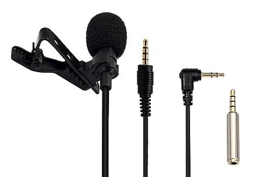 131 opinioni per AGPTek Z02- Mini Microfono Clip a Condensatore Omnidirezionale 3.5mm con 2