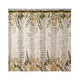 Avanti Linens 13670HIVR Foliage Garden Shower Curtain, Medium, Ivory