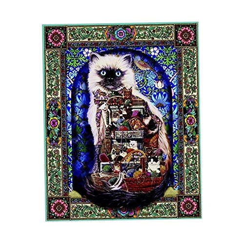 Campton Cats 5D Diamond Painting Craft Embroidery Cross Stitch Kit Craft Home Decor | Model DCR - 2072