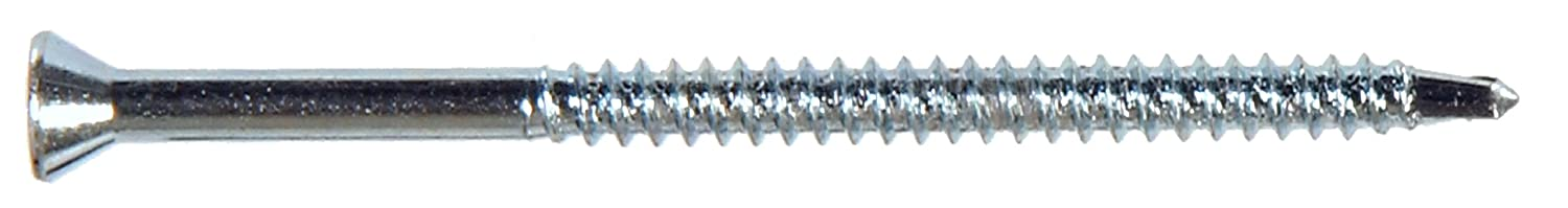 The Hillman Group 47330 6 x 1-5//8-Inch Trim Screw Self Drilling Point Square Drive