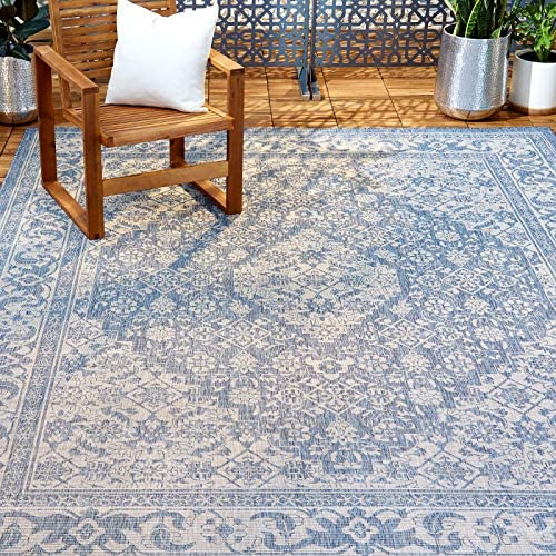 "Home Dynamix Nicole Miller Patio Country Dahlia Indoor/Outdoor Area Rug 5'2""x7'2"""