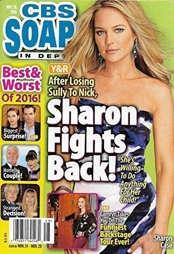 Upper crust & Worst of 2016 l Sharon Case l Camryn Grimes l Mary Beth Evans - November 28, 2016 CBS Soaps In Depth