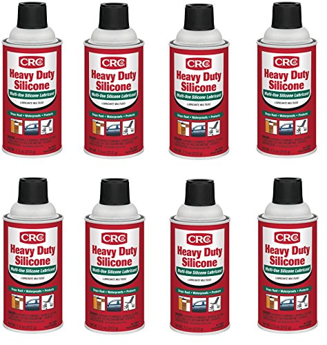 CRC  05074 Heavy Duty Silicone Lubricant - 7.5 Wt Oz. (8) by CRC