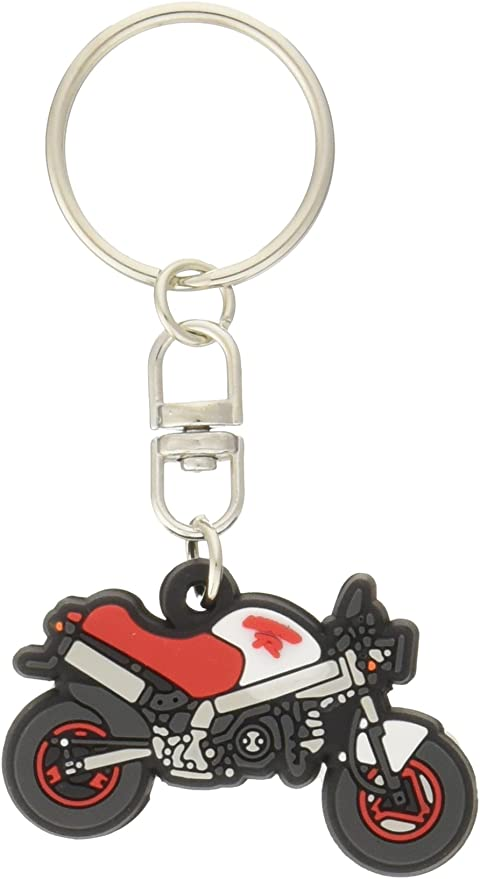 HONDA Official KUMAMON X MONKEY PVC Rubber Key Chain Key Ring