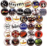 BEATLES YELLOW SUBMARINE 32 NEW 1 Inch (25mm) Set of 32 Pinback Buttons Badges Pins
