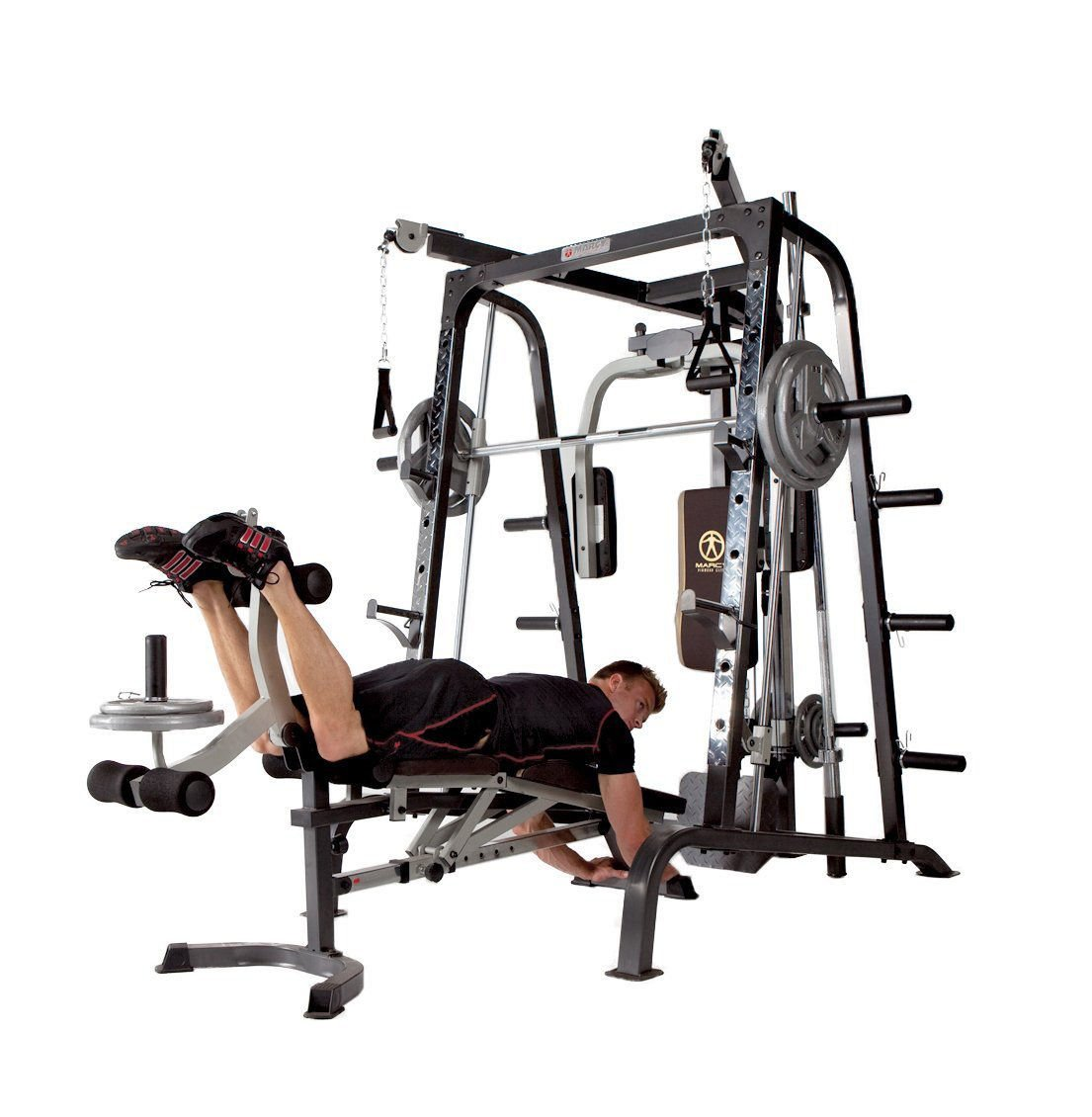 Amazon fitness equipment home gym workout smith cage machine