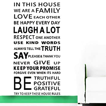 com large quotes wall decal inspirational stickers