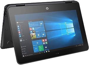 "2019 Flagship HP ProBook x36011.6""HD Touchscreen 2-in-1 Business Laptop, Intel Dual-Core Celeron N3350 up to 2.4GHz 4GB RAM 256GB SSD Bluetooth 4.2 802.11ac 1-yr 1-pc McAfee Antivirus Win 10 Pro"