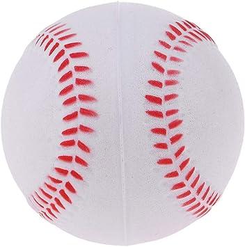 IPOTCH 9 Pulgadas Pelota de Béisbol Práctica y Ejercicio Soft PU ...