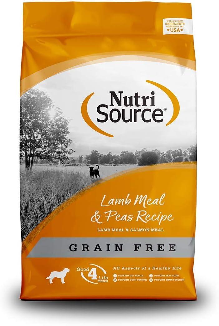 Tuffy'S Pet Food Nutrisource Grain Free Dog Food, Lamb & Peas