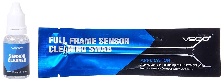 DSLR or SLR Camera Full-Frame Sensor Cleaning Kit (15 X Full Frame Sensor Cleaning Swabs + 15ml Sensor Cleaner)