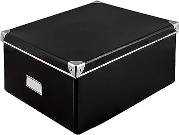 Caja de cartón rígido de Idena con tapa reforzada con metal ...