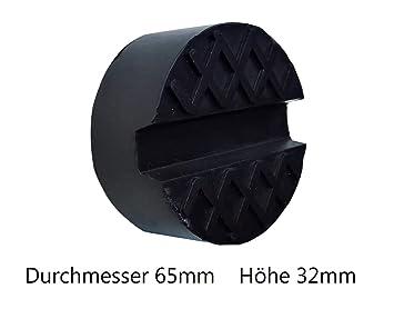KeraFlow - Almohadilla de Goma Universal para Gato hidráulico, Adaptador para elevación de neumáticos de