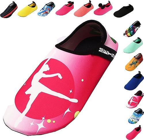Women Kids Men Comfort Snorkeling Diving Water Sports Barefoot Quick-Dry Aqua Yoga Socks Fitness Slip-On Athletic Boating Shoes
