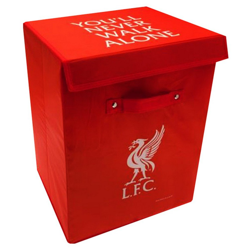 Liverpool FC Storage Box (One Size) (Red)