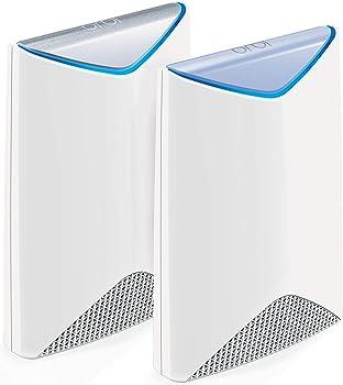 2-Pack Netgear Orbi Pro AC3000 Tri-Band Mesh Gigabit Wireless System