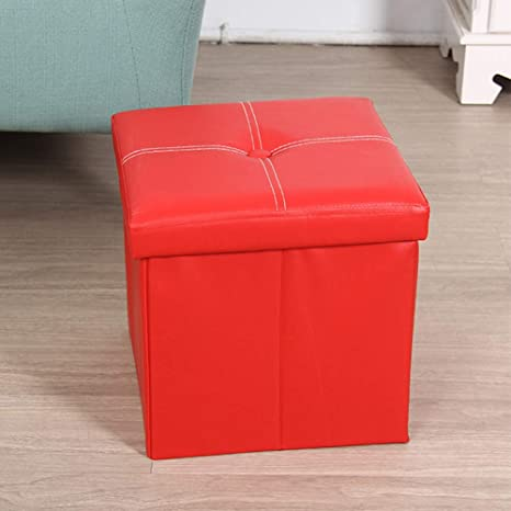 Pleasant Amazon Com Collapsible Storage Organizer Faux Leather Machost Co Dining Chair Design Ideas Machostcouk