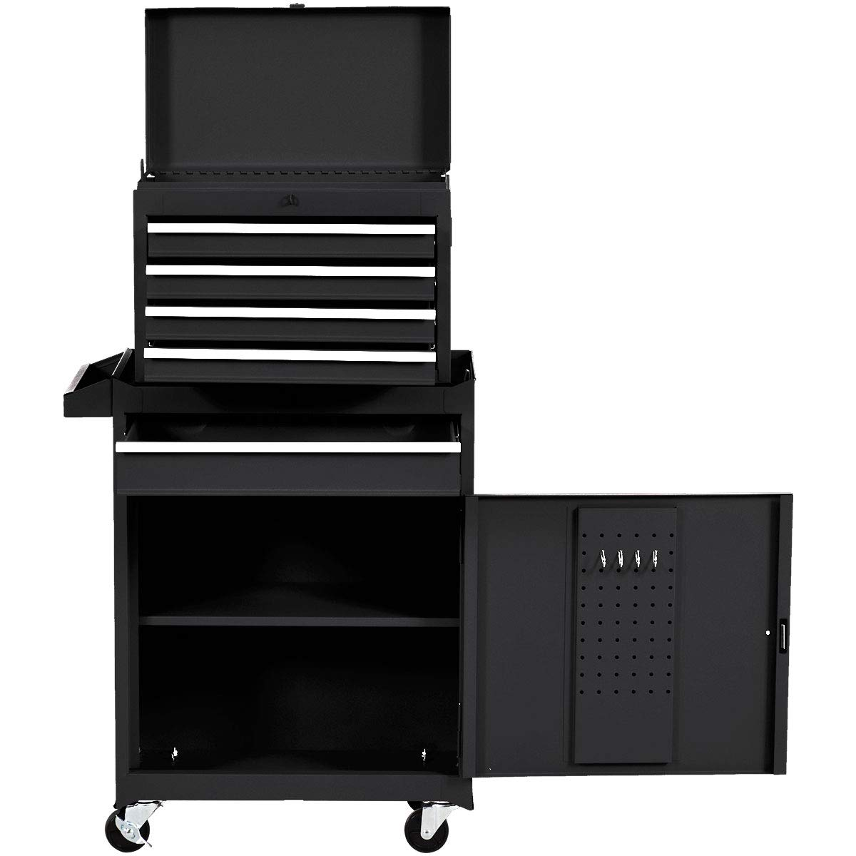 Amazon.com: Goplus 5-Drawer Rolling Tool Chest, Tool Storage ...