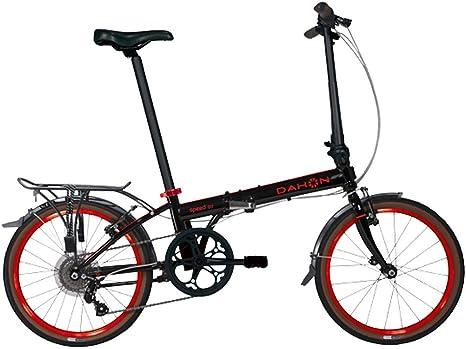 Dahon Bicicleta Plegable Speed D7 Obsidian Rojo para Bicicleta ...