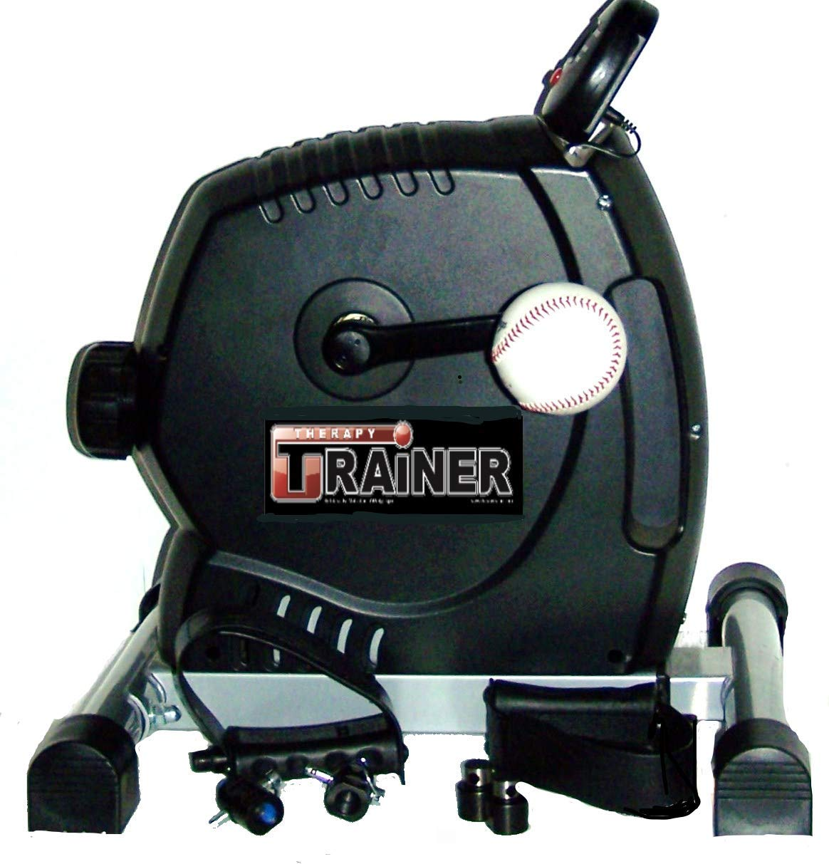 TherapyTrainer TT-TC Total Cycle 2 in 1 Upper Body Ergometer - Mini Pedaler Leg Exerciser by TherapyTrainer